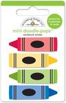 Colorful Crayons Doodlepops - Doodlebug