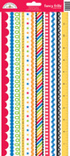 Back To School Fancy Frills Stickers - Doodlebug
