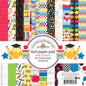 Back To School 6 x 6 Paper Pad - Doodlebug