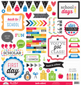 This & That Sticker - Back To School - Doodlebug