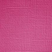 Bubblegum  Textured 12x12 Cardstock - Doodlebug