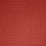 Ruby  Textured 12x12 Cardstock - Doodlebug