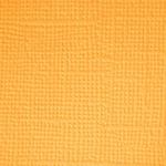 Marigold  Textured 12x12 Cardstock - Doodlebug