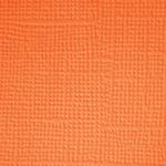 Mandarin  Textured 12x12 Cardstock - Doodlebug
