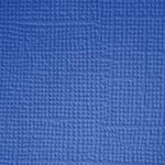 Blue Jean  Textured 12x12 Cardstock - Doodlebug