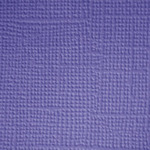 Lilac  Textured 12x12 Cardstock - Doodlebug
