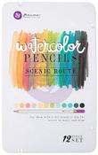 Scenic Route Watercolor Pencils - Mixed Media - Prima