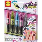 Hot Hues - Sketch It Nail Pens