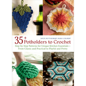 35+ Potholders To Crochet - Trafalgar Square Books