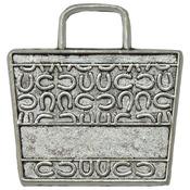 Beach Bag - Silver Embellishments 10/Pkg