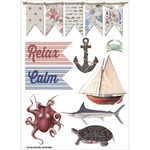 "Beach Affair Vinyl Stickers 7.75""x5.25"" -Pictures"
