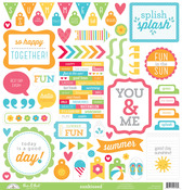 Sunkissed This & That Sticker Sheet - Doodlebug