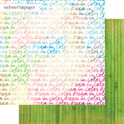 Dream In Color Paper - Webster's Pages