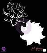 Lotus 6 x 6 Stencil - Bloom - Prima