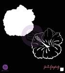 Hibiscus 6 x 6 Stencil - Bloom - Prima
