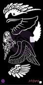 Wings 6 x 12 Stencils - Bloom - Prima