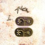 Montmartre Metal Latch - Memory Hardware - Prima