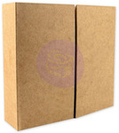 Gatefold Chipboard Journal Album - Memory Hardware  - Prima