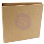 Square Chipboard Journal Album - Memory Hardware - Prima