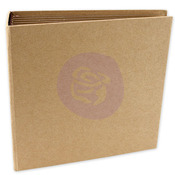 Square Chipboard Journal Album - Memory Hardware - Prima