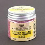 Blush Micro Beads - Art Ingredients - Prima