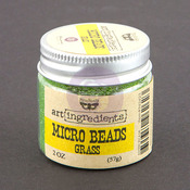 Grass Micro Beads - Art Ingredients - Prima