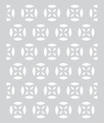 Medallion Pattern Stencil - Prism - Basic Grey