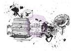 Romanticism Treasured Memories 8 Cling Stamp - Prima