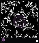 Bamboo Leaves 6 x 6 Stencil - Prima