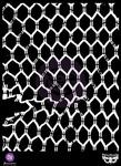 Chicken Wire 7 x 9 Stencil - Finnabair - Prima