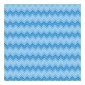 Blue Chevron Paper - Best In Show - Anna Griffin