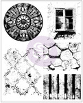 Old Town Cling Stamps - Finnabair - Prima