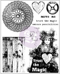 Trust The Magic Cling Stamps - Finnabair - Prima