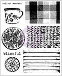 Tea On Deck Cling Stamps - Finnabair - Prima