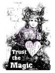 Trust The Magic Wood Mounted Stamp - Finnabair - Prima