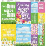 Happy Easter 12 x 12 Cardstock Stickers - Reminisce