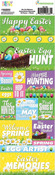 Happy Easter 2015 Cardstock Stickers - Reminisce