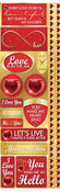 Magical Love Cardstock Stickers - Reminisce