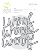Woof Die Set - Baxter - 7 Paper