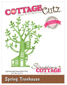 Spring Treehouse Elites Die - CottageCutz