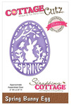 Spring Bunny Egg Elite Die - CottageCutz