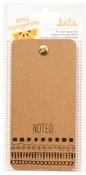 Rise & Shine Ticket Memo Pad - Amy Tangerine