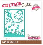 Spring Scene 3 Elites Die - CottageCutz