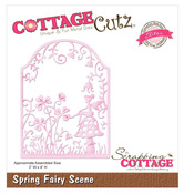 Spring Fairy Scene Elites Die - CottageCutz