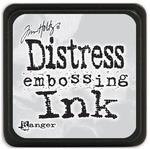 Clear Distress Embossing Mini Ink Pad - Tim Holtz