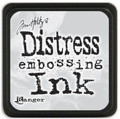 Clear Distress Embossing Mini Ink Pad - Tim Holtz