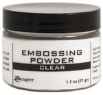 Clear Embossing Powder 1.3 oz Jar