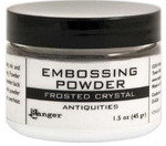 Frosted Crystal Embossing Powder 1.5 oz Jar