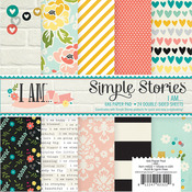 I Am 6 x 6 Paper Pad - Simple Stories