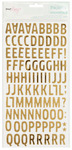 Gold Woodland Foil Thickers - Dear Lizzy